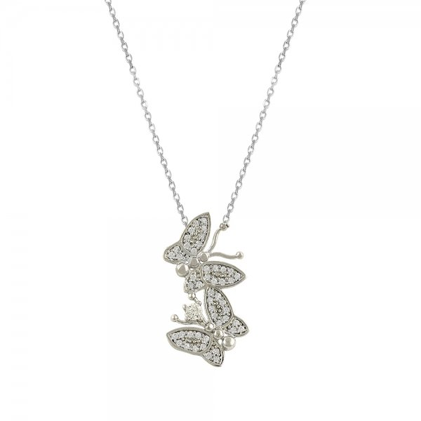 Butterfly Necklace - N83586