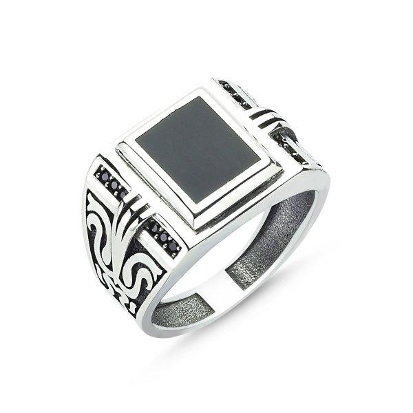 CZ Enamel Ring - R83605