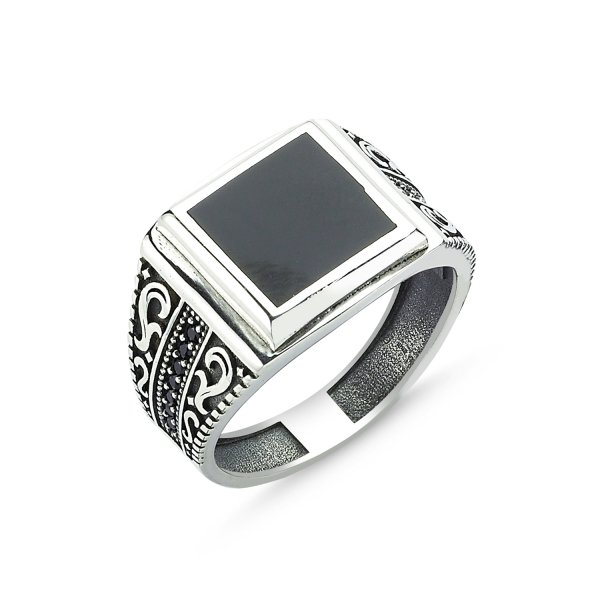 CZ Enamel Ring - R83608