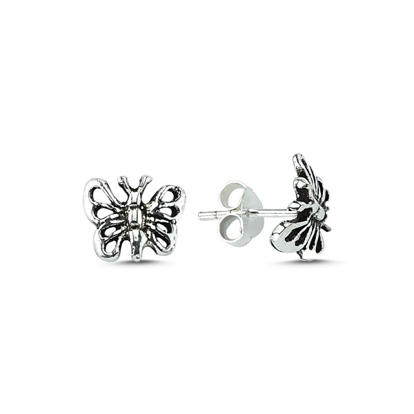 Tiny Butterfly Earrings - E83609