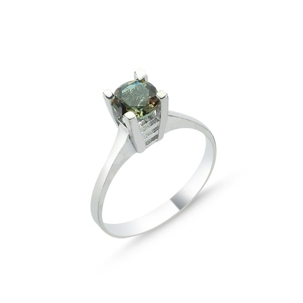 Round Sultanit Solitaire Ring - R83613