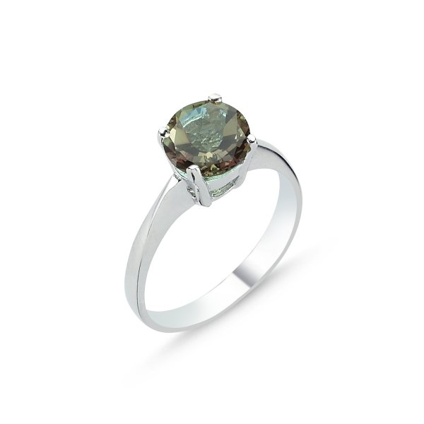 Round Sultanit Solitaire Ring - R83616