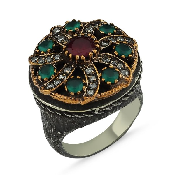 CZ Ottoman Style Ring  - R83876