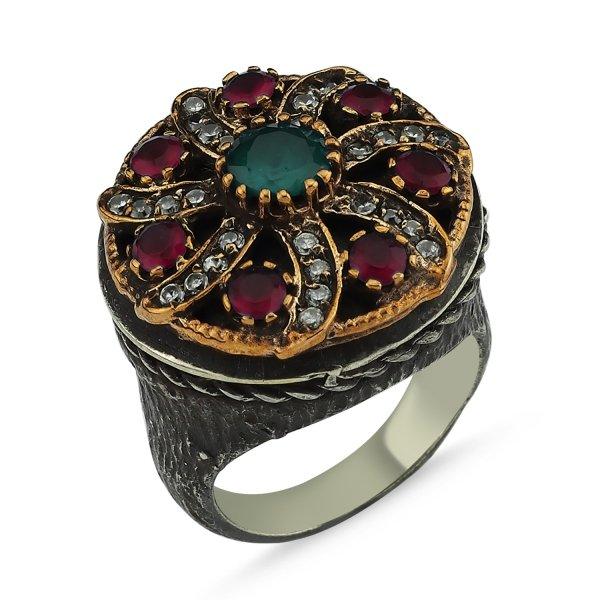 CZ Ottoman Style Ring  - R83877