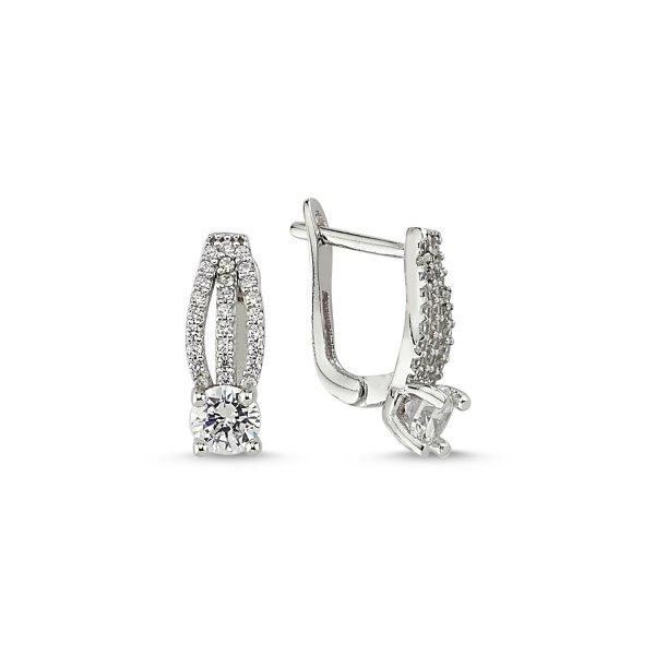 CZ Earrings - E84025
