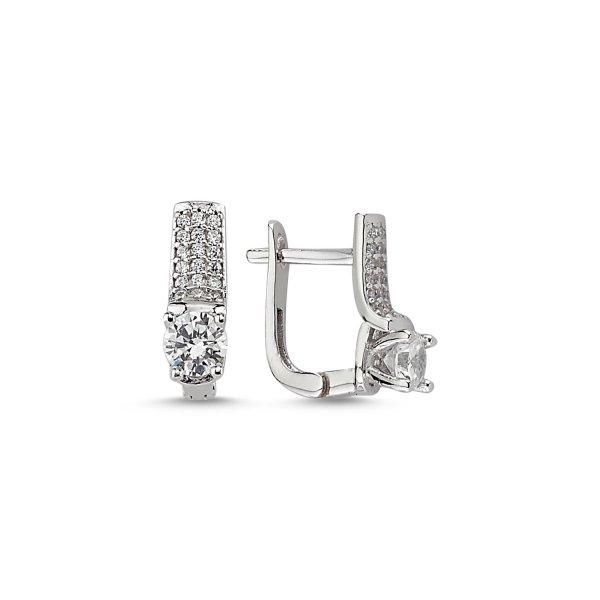 CZ Earrings - E84027