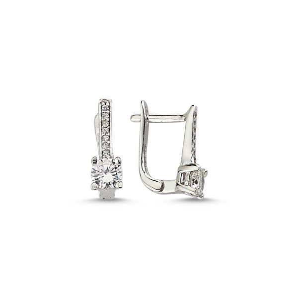CZ Earrings - E84028