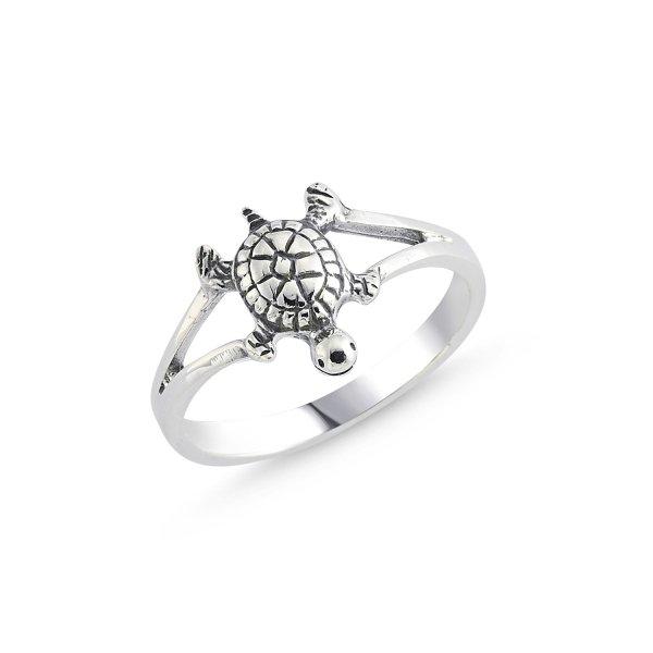 Stoneless Turtle Ring - R84109