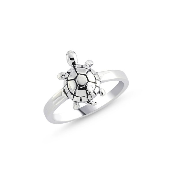Stoneless Turtle Ring - R84110