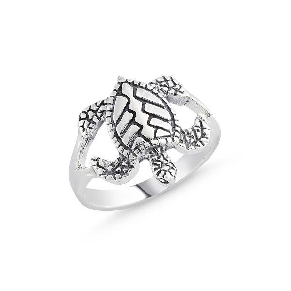 Stoneless Turtle Ring - R84111