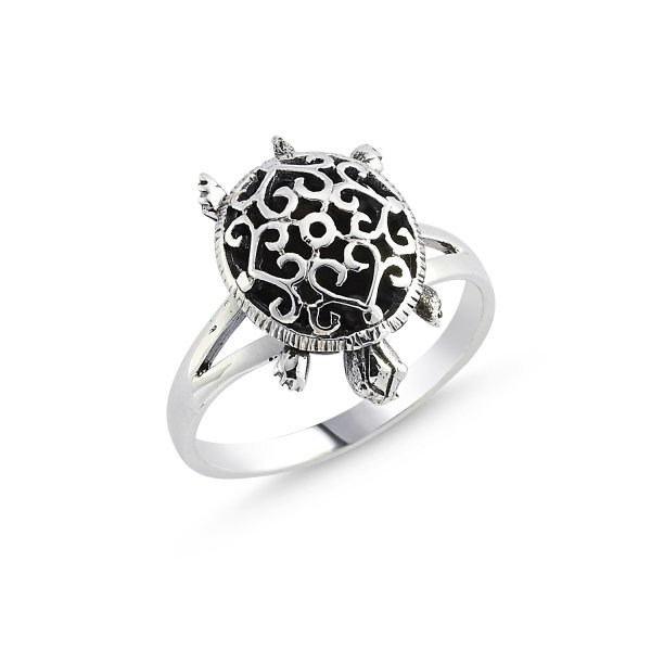 Stoneless Turtle Ring - R84112