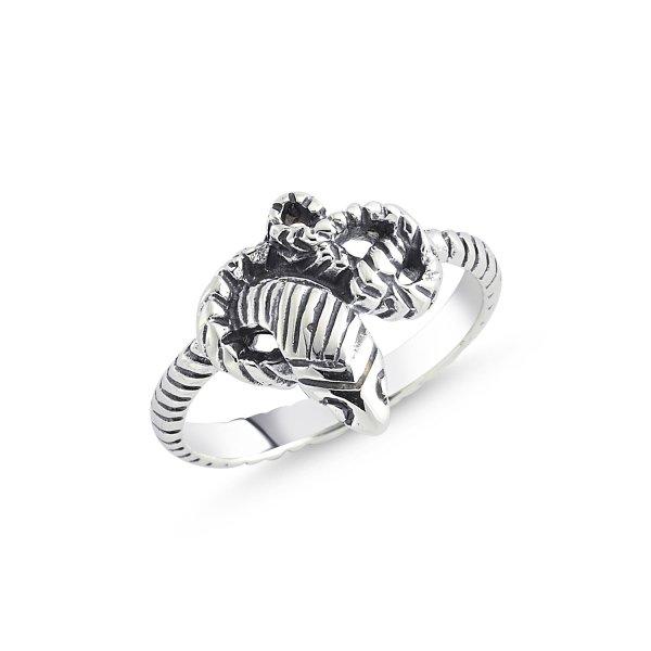 Stoneless Snake Ring - R84121