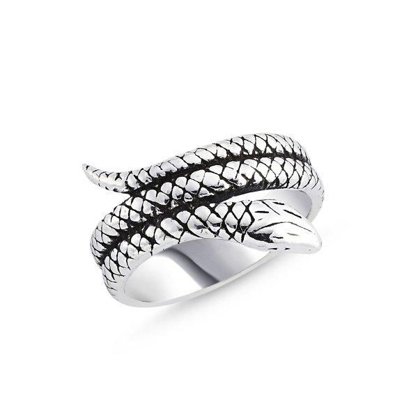Stoneless Snake Ring - R84122