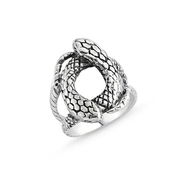Stoneless Snake Ring - R84124