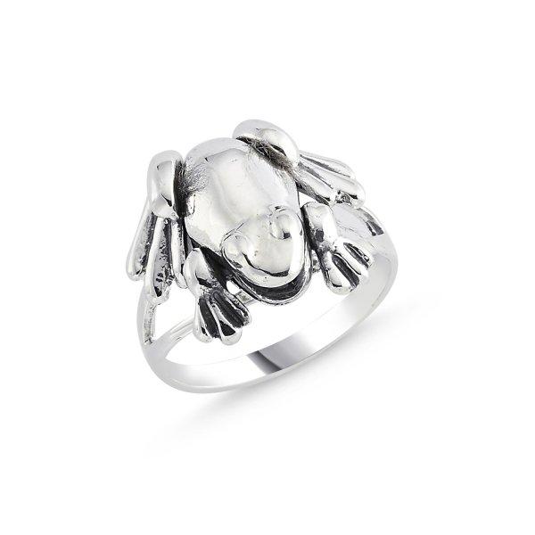Stoneless Frog Ring - R84129