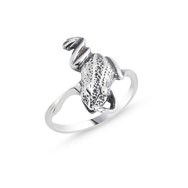 Stoneless Frog Ring - R84130