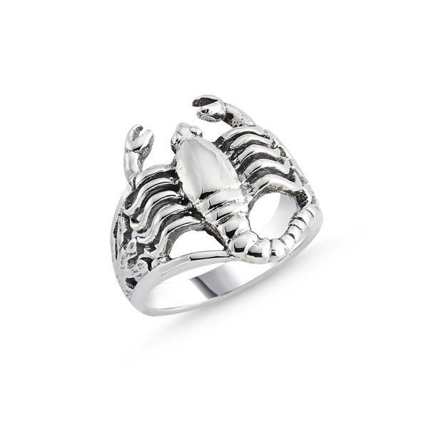 Stoneless Scorpion Ring - R84132