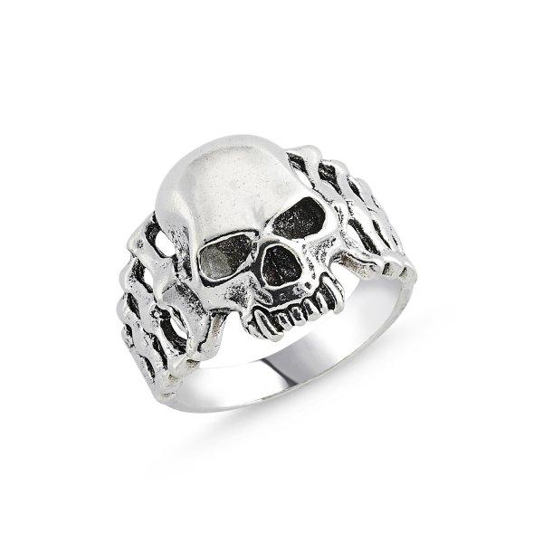 Stoneless Skull Ring - R84133