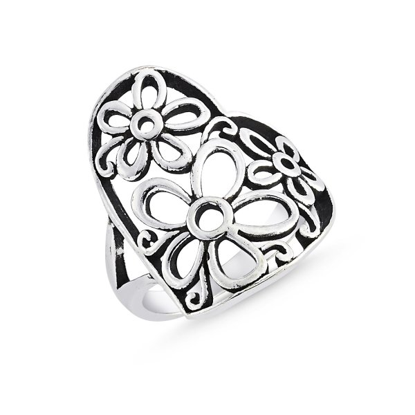 Stoneless 925 Sterling Silver Ring  - R84139