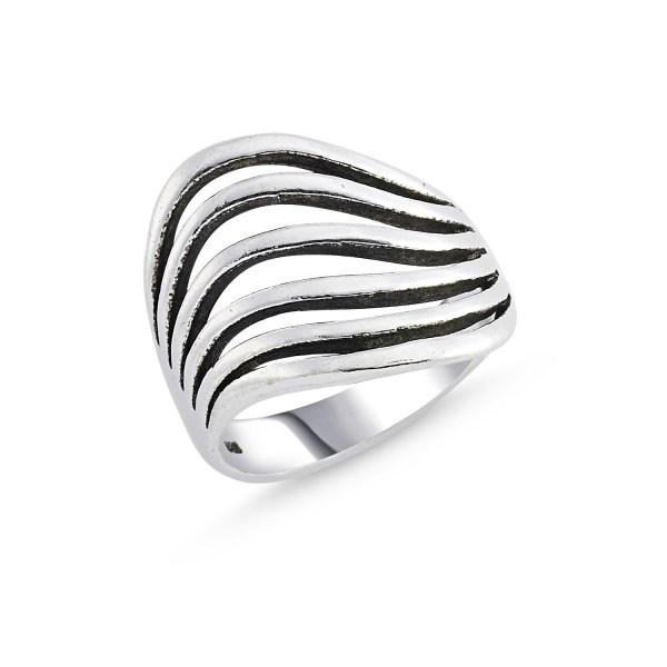 Stoneless 925 Sterling Silver Ring  - R84146