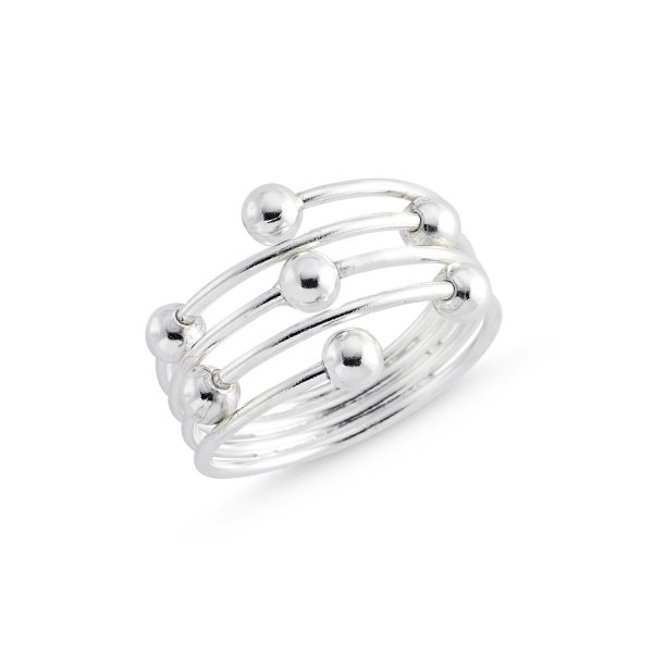 Stoneless 925 Sterling Silver Ring  - R84148