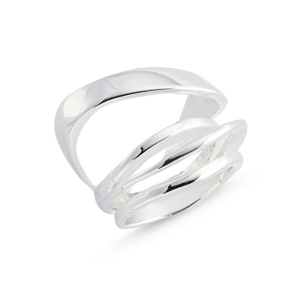 Stoneless 925 Sterling Silver Ring  - R84151