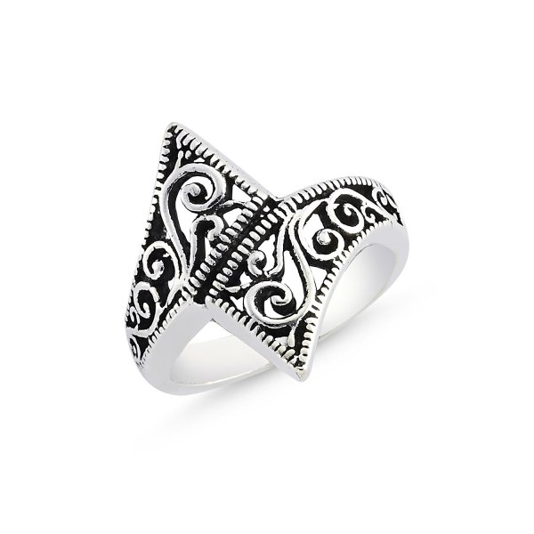Stoneless 925 Sterling Silver Ring  - R84153