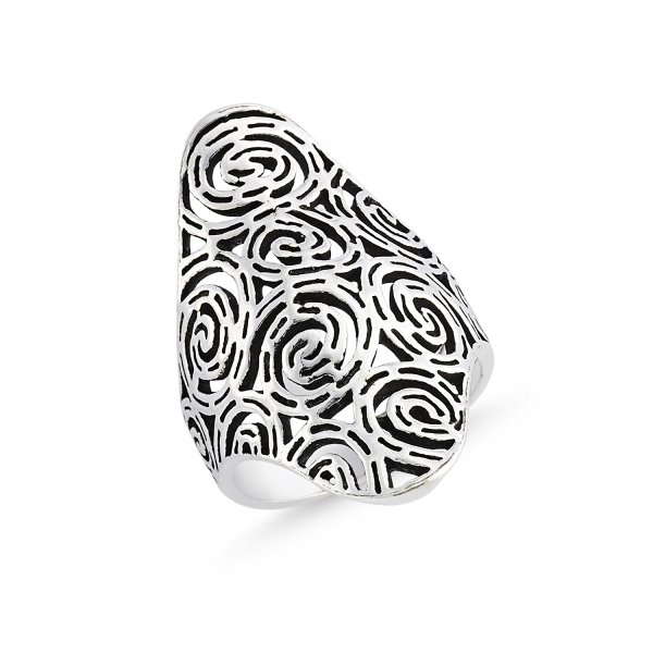 Stoneless 925 Sterling Silver Ring  - R84156