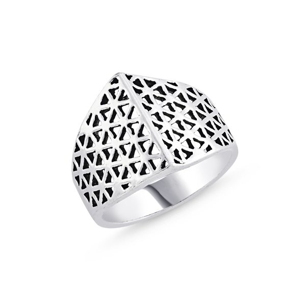 Stoneless 925 Sterling Silver Ring  - R84159