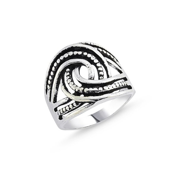 Stoneless 925 Sterling Silver Ring  - R84166