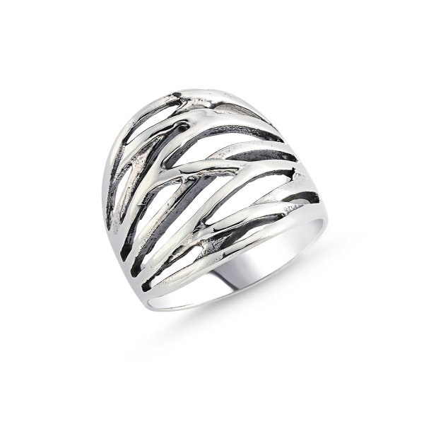 Stoneless 925 Sterling Silver Ring  - R84174