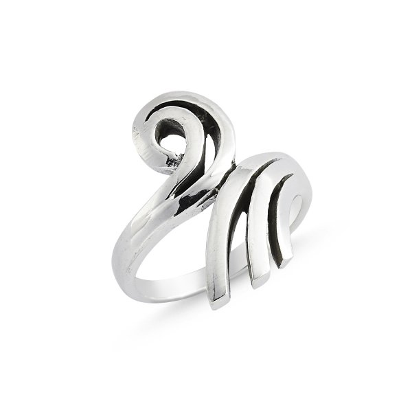 Stoneless 925 Sterling Silver Ring  - R84175