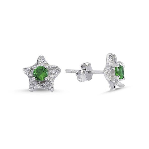 CZ Star Earrings - E84293