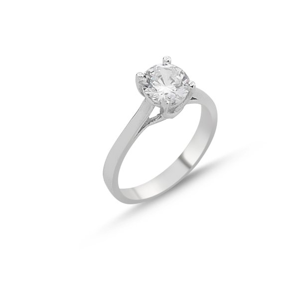 CZ Solitaire Ring - R84548