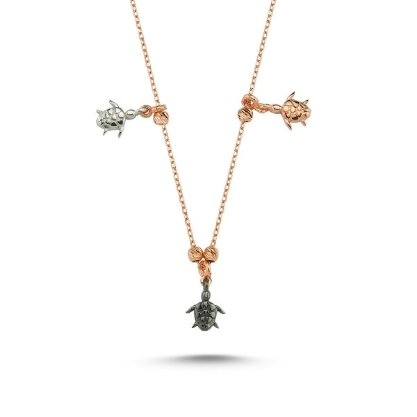 Stoneless Turtle Necklace  - N84950