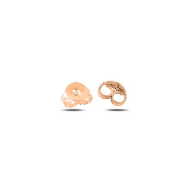Rose Gold Plated Erfly Earring Backs