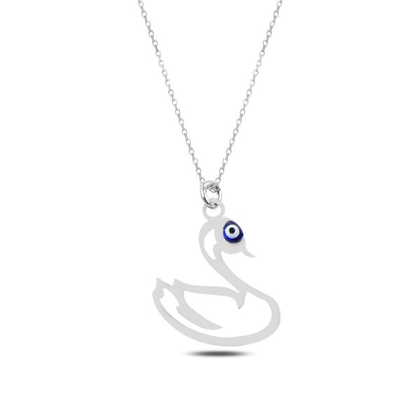 Swan Plain Necklace - N89271