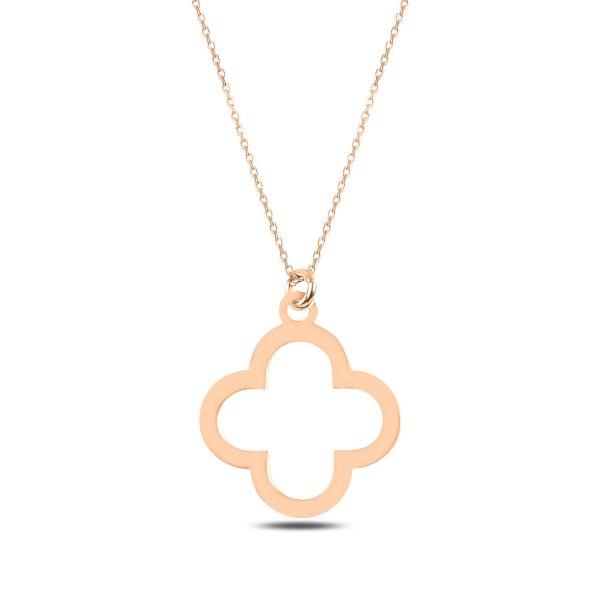 Clover Plain Necklace - N89273