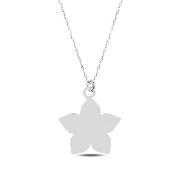 Jasmine Flower Plain Necklace - N89275