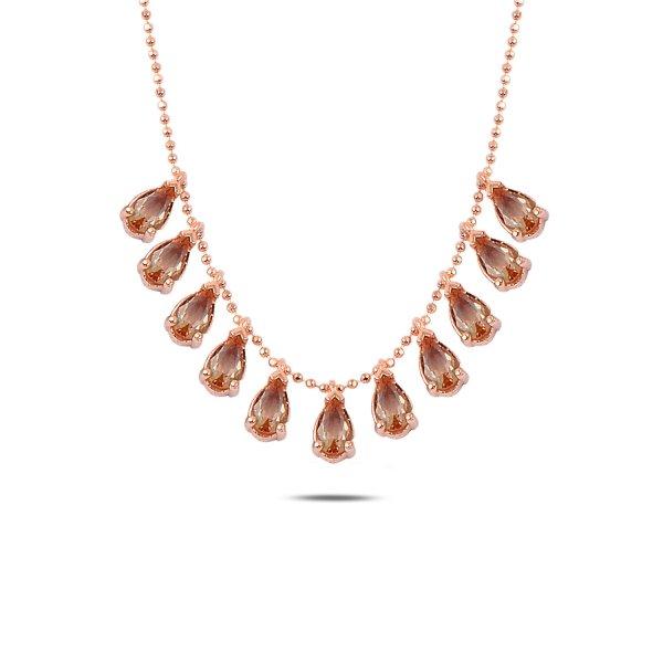 Teardrop Sultanit Dangle Necklace - N89764