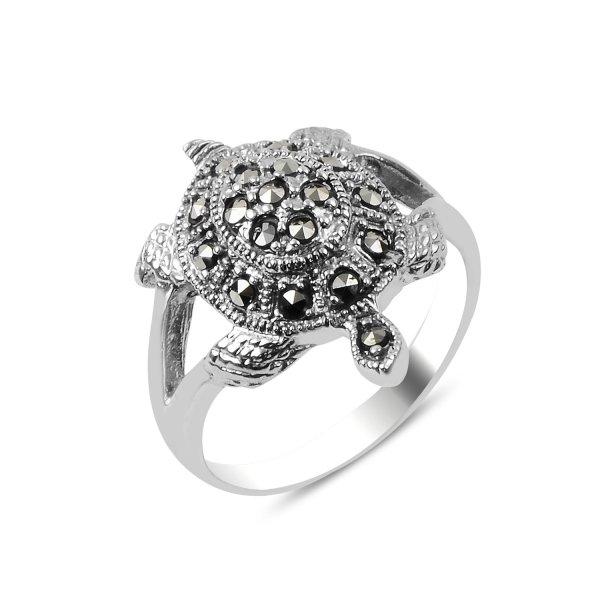 Marcasite Turtle Ring - R89920