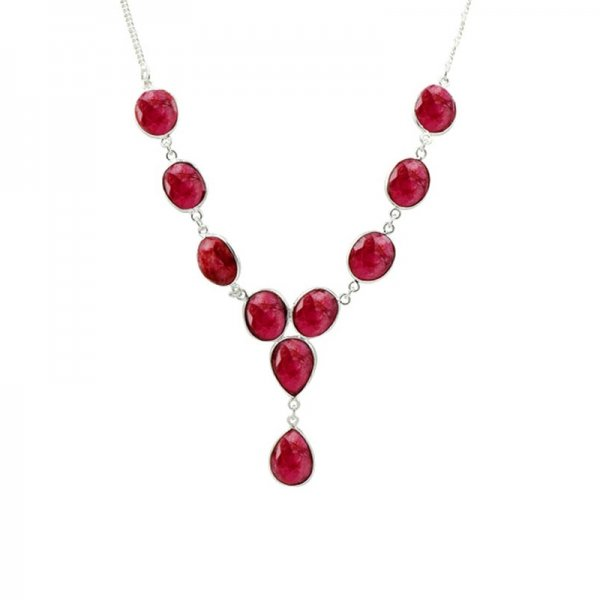 Ruby Necklace - N93824