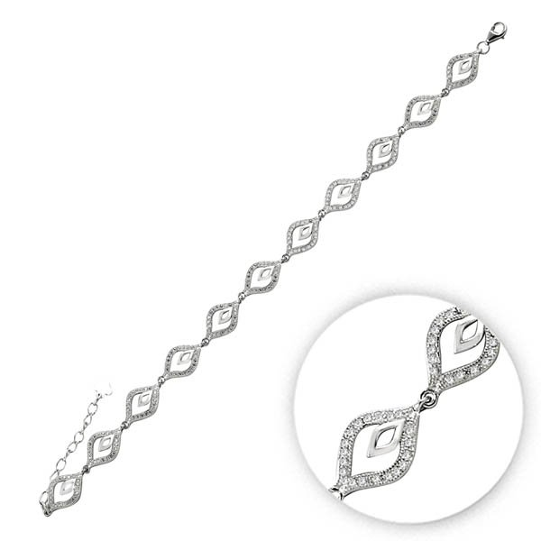 Zirconia Bracelet - B09832