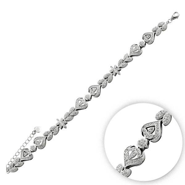 Zirconia Bracelet - B09834