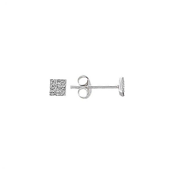Silver Gemstone Earrings - E01358