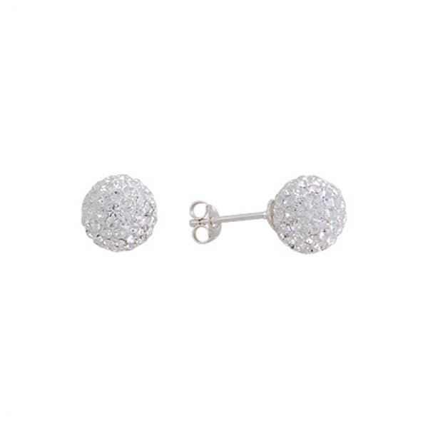 Crystal Ball Stud Earrings - E01370