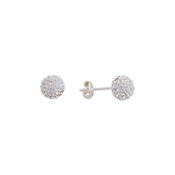Silver Gemstone Earrings - E01371