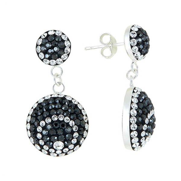 Silver Gemstone Earrings - E01479