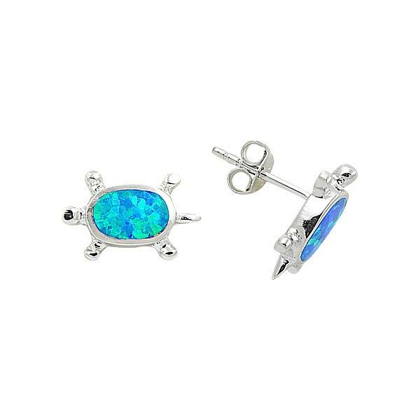 Opal Turtle Earrings - E08840