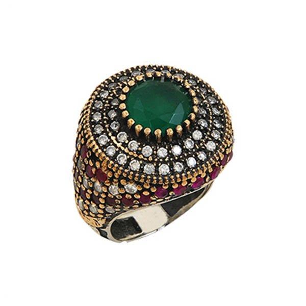 Ottoman Style CZ Ring - R00054